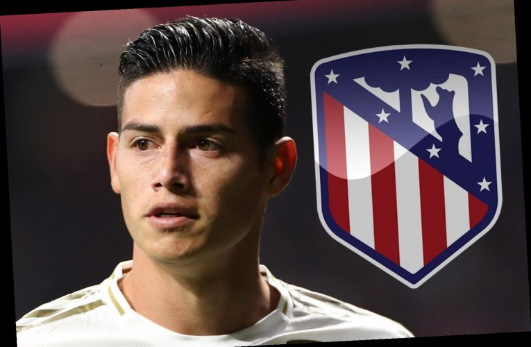 James Rodriguez set for sensational Atletico Madrid transfer from Real Madrid for £13.5m with no future under Zidane