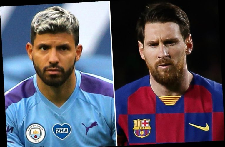 Man City fans convinced Lionel Messi transfer is done as pal Sergio Aguero removes No 10 from Instagram handle