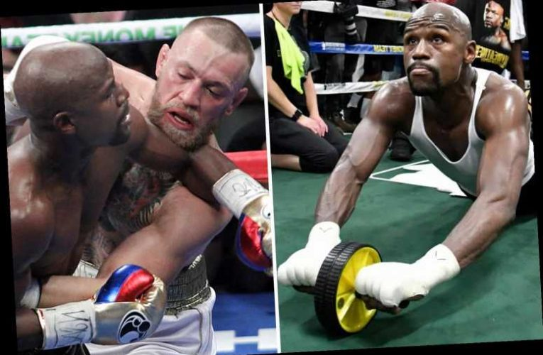 Floyd Mayweather claims he only did 'push-ups and sit-ups' in training before beating UFC star Conor McGregor – The Sun