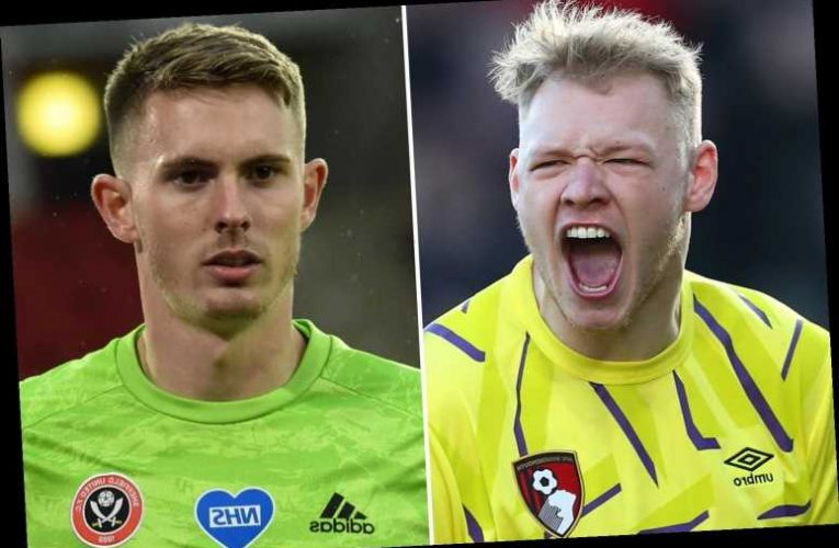 Sheffield United drop huge hint Henderson returning to Man Utd as they have £12m bid for Bournemouth's Ramsdale rejected