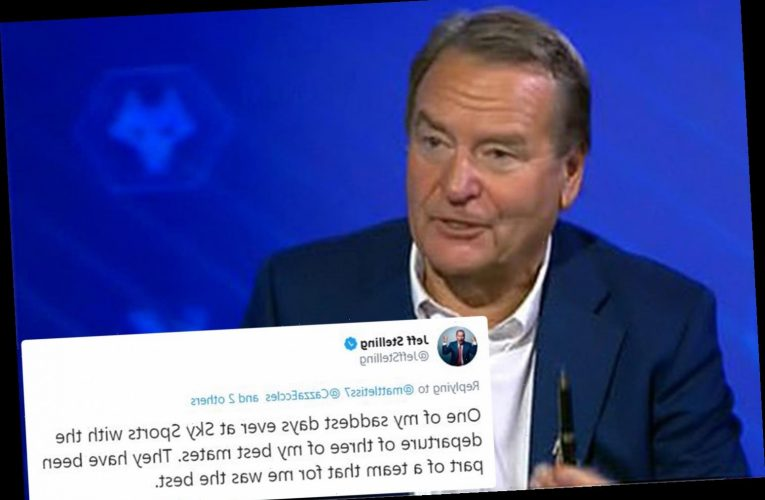 Soccer Saturday host Stelling calls it 'saddest day ever' after 'best mates' Le Tissier, Thompson and Nicholas sacked
