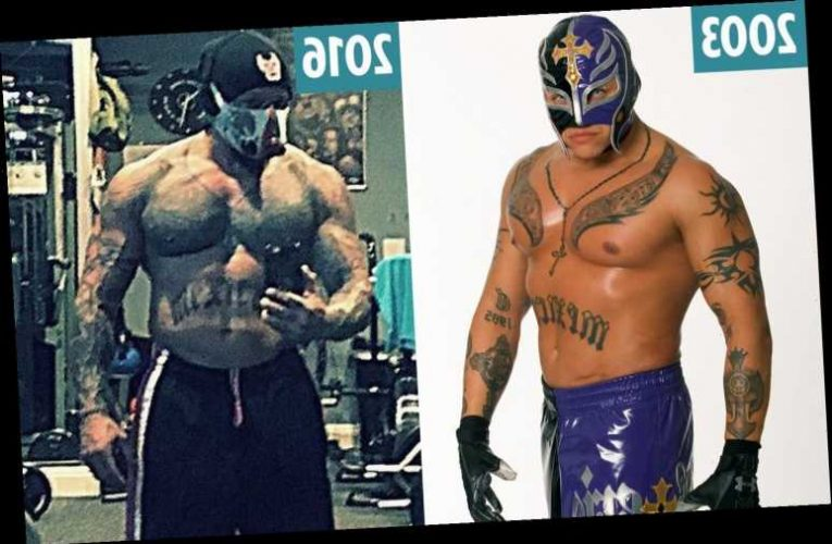 WWE legend Rey Mysterio's stunning body transformation from weedy high-flyer to bulked up, hard-hitting wrestling icon – The Sun