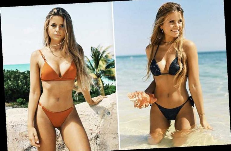 Man City's Bernado Silva's girlfriend Ines Tomaz shows off her toned body in beach snap