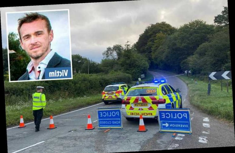Motorcyclist dies fleeing police after shooting parish councillor in leafy Hampshire village