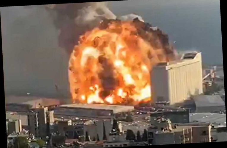 Beirut explosion sparked by nearby warehouse fire, report says