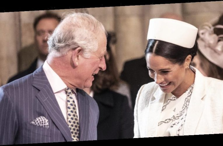 Prince Charles Keeps A Framed Photo Of This Moment With Meghan Markle at Clarence House