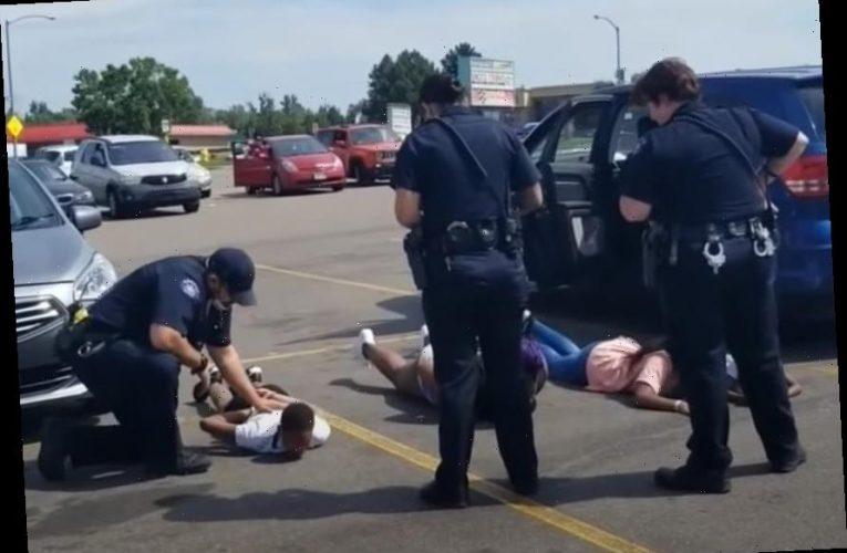 Aurora Police Apologize After Holding Innocent Black Children At Gunpoint In Mistaken Traffic Stop (Video)