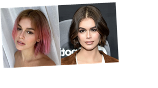 """Kaia Gerber on Dyeing Her Hair Punk Pink: """"I Wanted to Look Like Kurt Cobain"""""""
