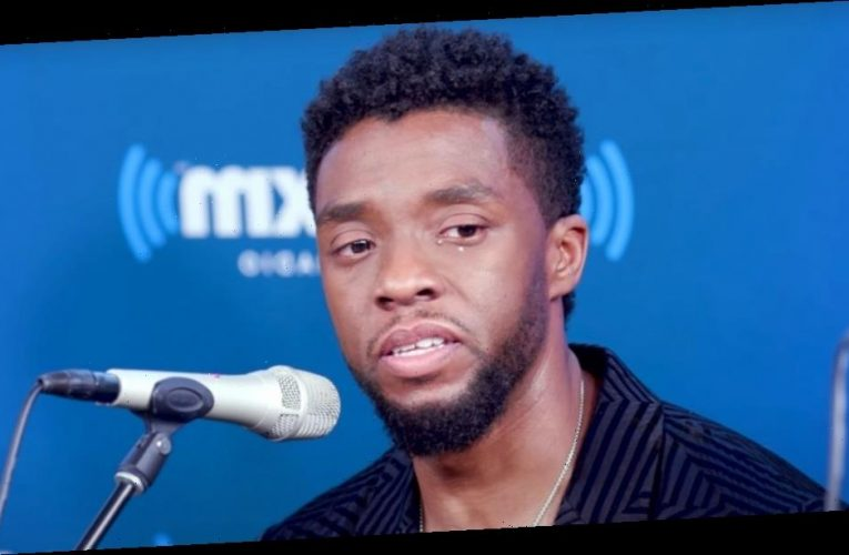 The heartbreaking moment Chadwick Boseman broke down about two of his fans battling cancer