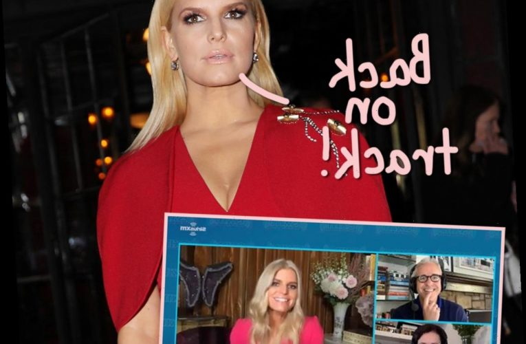 Jessica Simpson Opens Up Newfound Sobriety & Not Drinking During Quarantine!