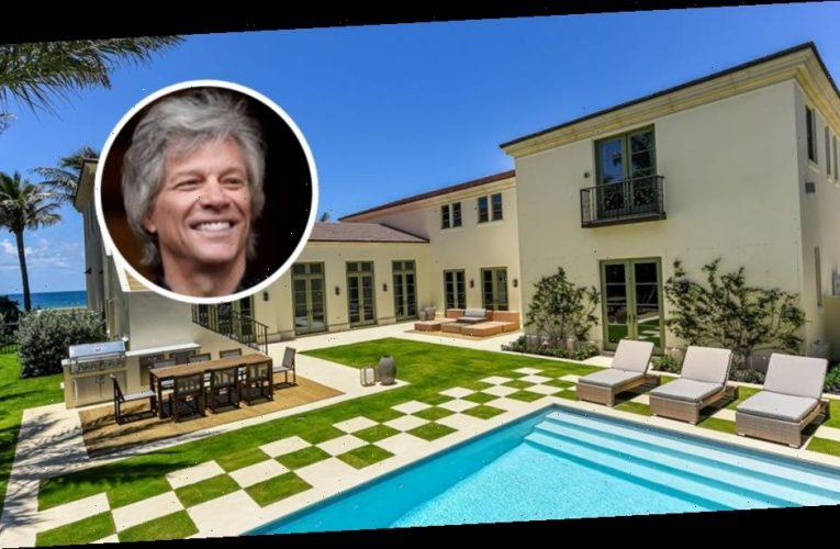 Jon Bon Jovi Trades Palm Beach Mansions