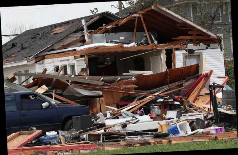 Hurricane Laura carves a path of devastating destruction in Louisiana and Texas