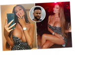 Neymar's busty ex-girlfriend Soraja Vucelic almost pops out of her dress in steamy Instagram post leaving fans stunned
