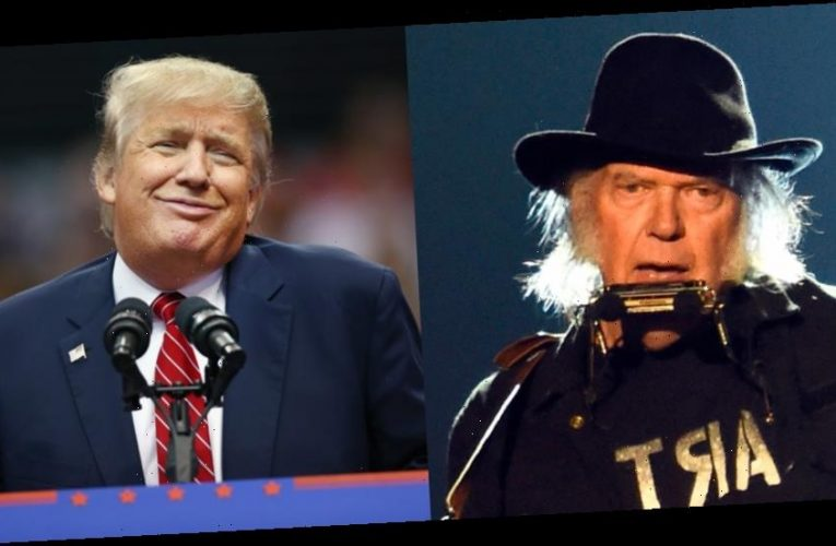 Neil Young Is Suing Donald Trump's Campaign for Using His Music