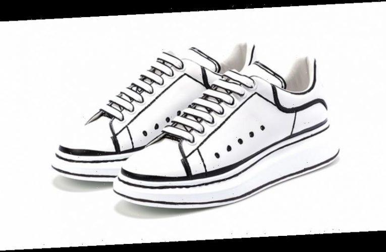 Alexander McQueen Outlines Its Oversized Sneaker
