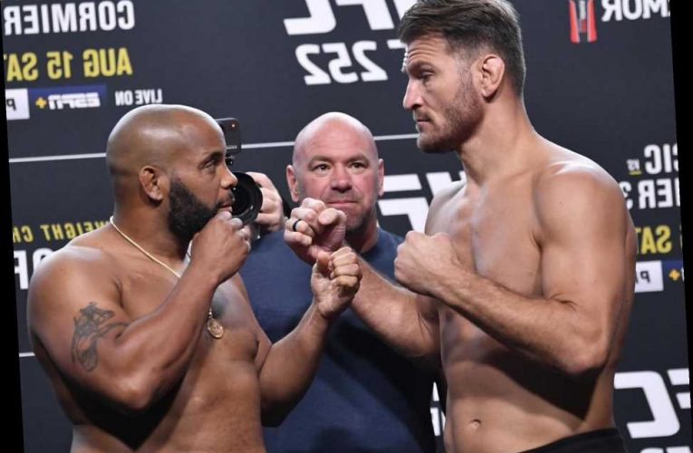 UFC 252 LIVE: Updates and results from Stipe Miocic vs Daniel Cormier tonight