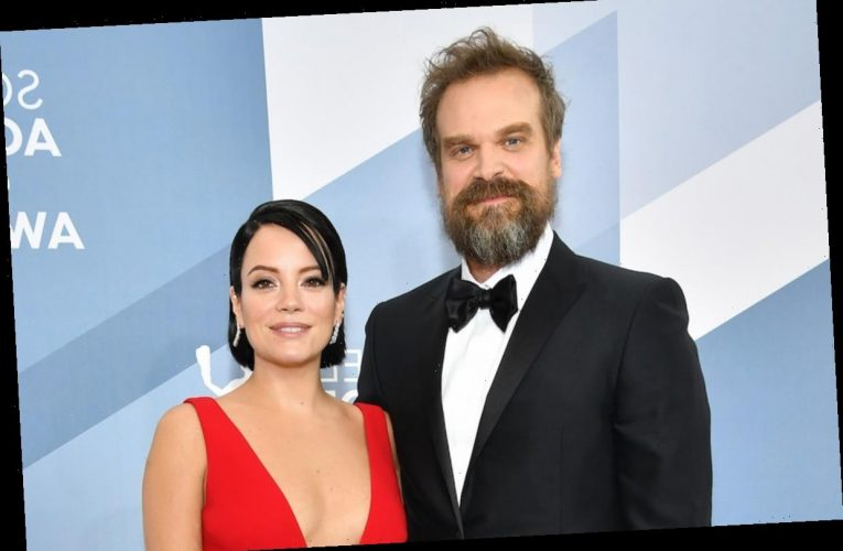 David Harbour & Lily Allen Might Get Married Before 'Stranger Things' Returns