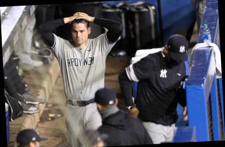 Loss sends Yankees to new low as Blue Jays post 10-run inning