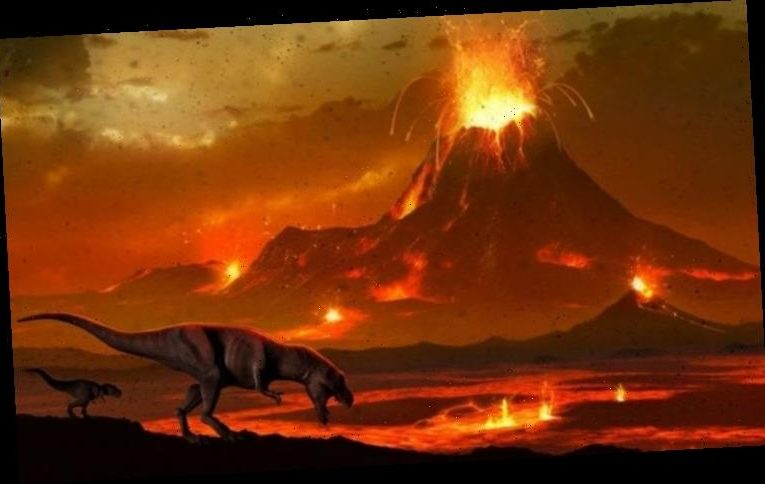 Extinction event: Discovery of ancient eruptions that 'gave dinosaurs their chance'
