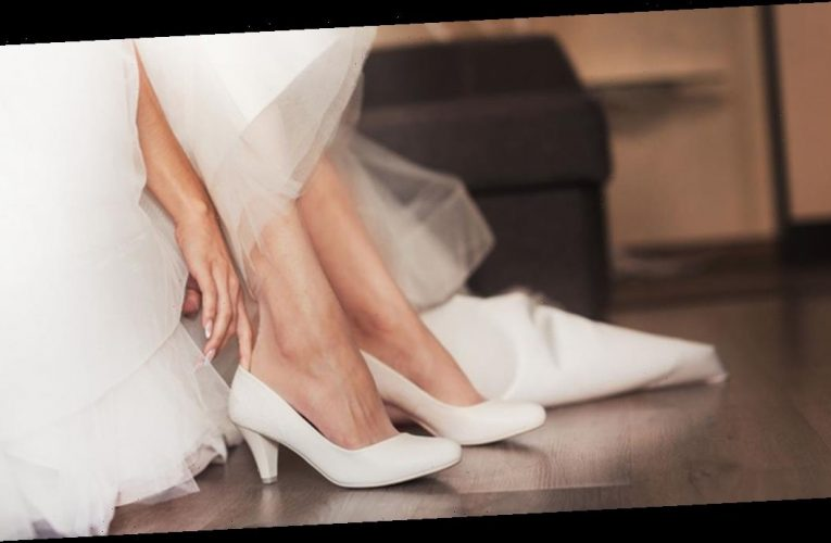 'Insane' bride slammed for banning wedding guests from wearing heels