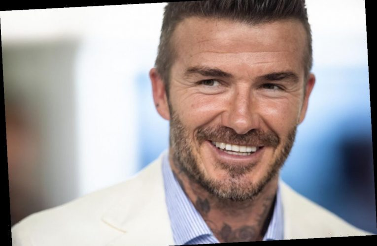 David Beckham Starts His Day Just Like The Rest Of Us