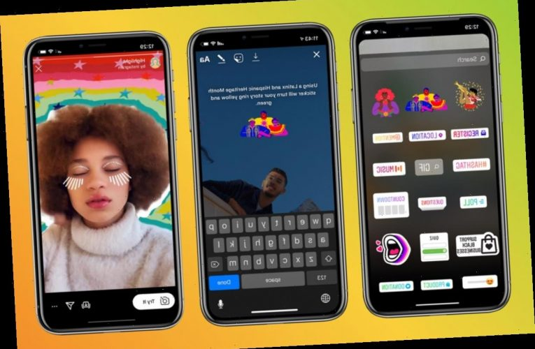 How To Get Instagram's #LatinxHeritageMonth Stickers & AR Effects