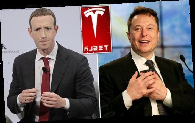 Elon Musk overtakes Mark Zuckerberg as world's third-richest person