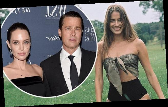 Brad Pitt's girlfriend Nicole Poturalski stuns in a revealing crop top