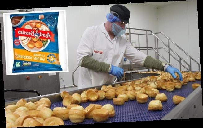 Aunt Bessie's Yorkshire pudding factory is hit by Covid outbreak