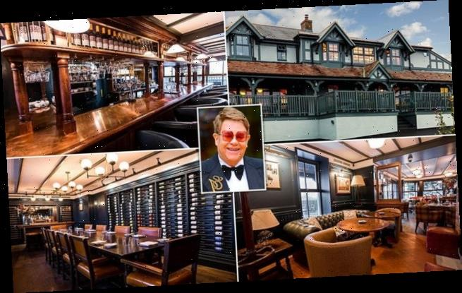 Elton John's local pub The Oxford Blue is on sale for £1.5m
