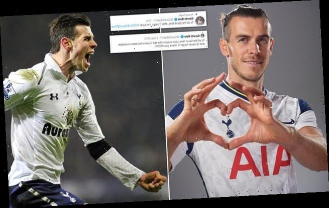 'To all the Spurs fans…I'm back!': Gareth Bale to return to Tottenham