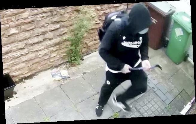 Burglars use Covid face masks to disguise themselves in raid on home