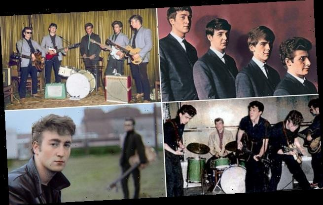 Colourisation artist brings to life snaps of the Beatles in early 60s