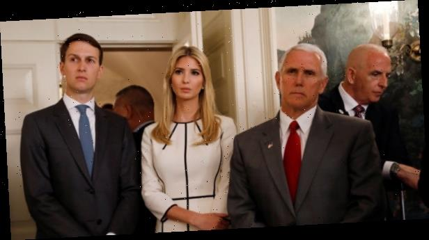 Pence, Ivanka bring law-and-order tour to city of Floyd