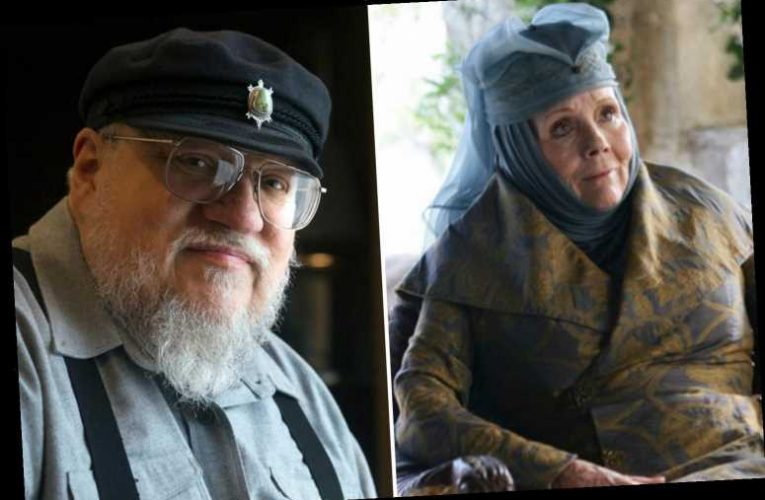 Game of Thrones' George RR Martin breaks silence on 'titan' Dame Diana Rigg's death with touching tribute