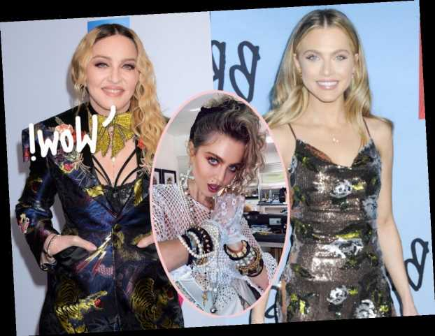 13 Reasons Why Star Anne Winters Campaigns HARD For Madonna Biopic – See Her Jaw-Dropping Pics HERE!