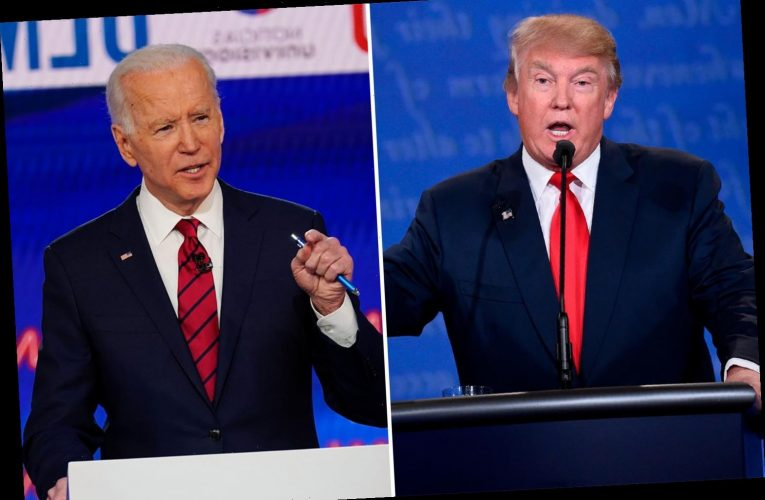 Biden says Trump's best case is 'made in urine' for winning Tuesday's presidential debate after drug test demand
