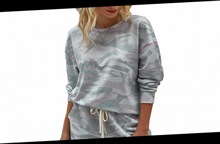 This Comfy Camo Lounge Set Is Your New Work-From-Home Uniform