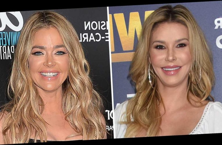 Brandi Glanville Reacts to Denise Richards' 'RHOBH' Exit After Affair Claim