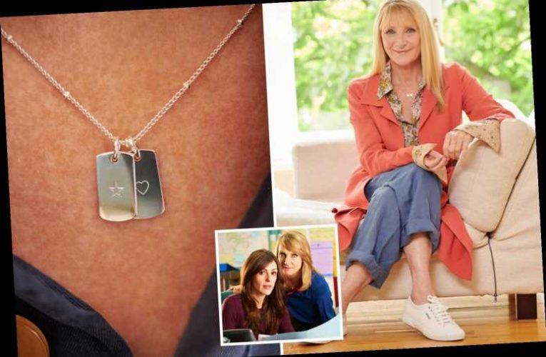 Scott & Bailey star Lesley Sharp turns jewellery designer as she reveals special range for Poppy Appeal 2020