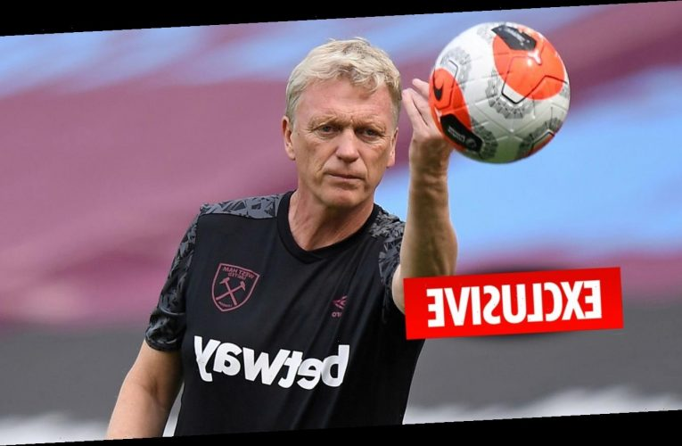West Ham boss David Moyes set to take training sessions via Zoom after testing positive for coronavirus