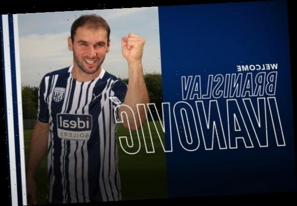 West Brom complete Branislav Ivanovic transfer as ex-Chelsea star, 36, signs one-year deal