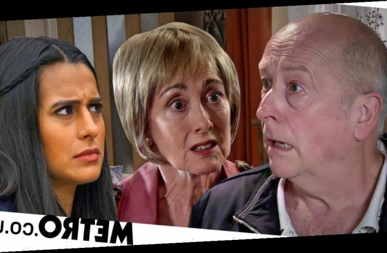 Spoilers: Geoff destroyed as Alya finds Elaine in Corrie?