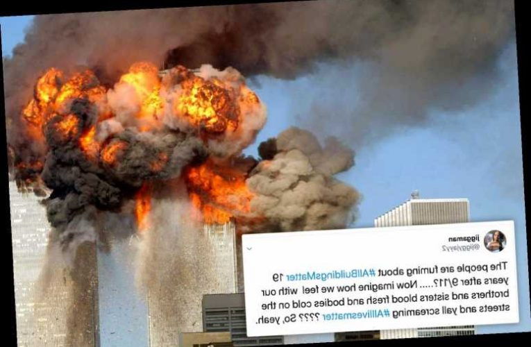 '#AllBuildingsMatter' trend goes viral as 'radical left promote shocking hashtag comparing 9/11 to Black Lives Matter'