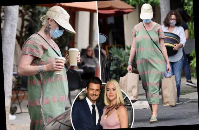 Katy Perry spotted for first time since welcoming daughter Daisy with fiancé Orlando Bloom