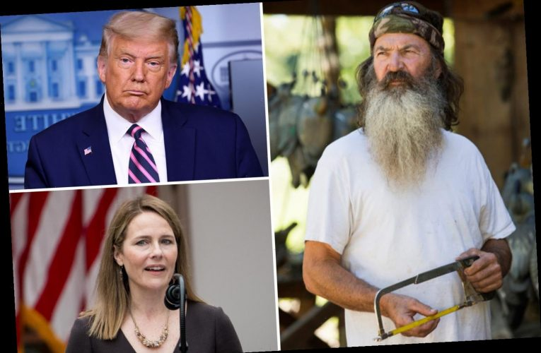 Duck Dynasty's Phil Robertson fears Trump Supreme Court pick Amy Coney Barrett will be 'ruthlessly attacked'