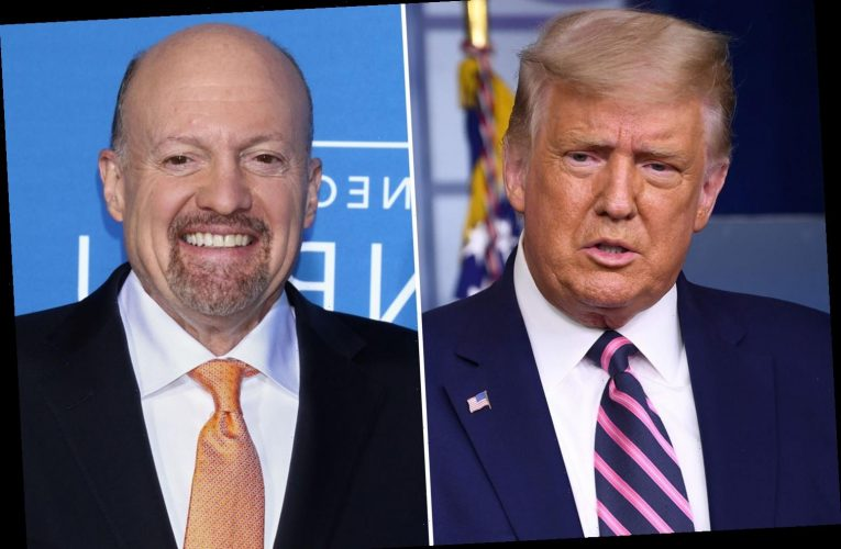 Trump slams Jim Cramer after Mad Money host apologized to Pelosi for calling her 'Crazy Nancy' during an interview