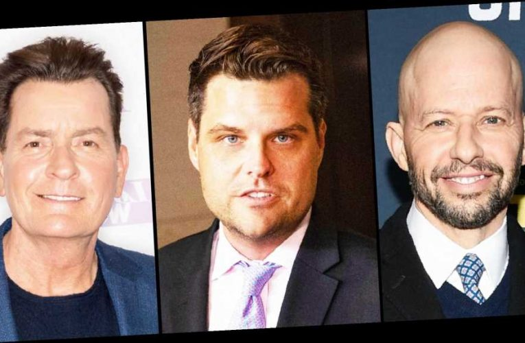 Jon Cryer and Matt Gaetz Feud Over Charlie Sheen in 'Two and a Half Men'