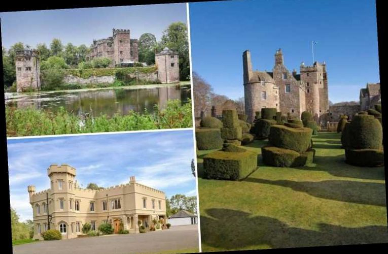 Inside 5 castles for sale in the UK – from a 'haunted' head-hacker's manor to a 14-bed 'Sleeping Beauty' retreat