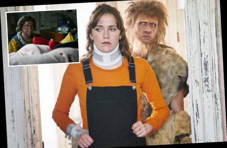 Ghosts cast reveal grisly plague scenes BBC bosses were forced to axe amid coronavirus pandemic